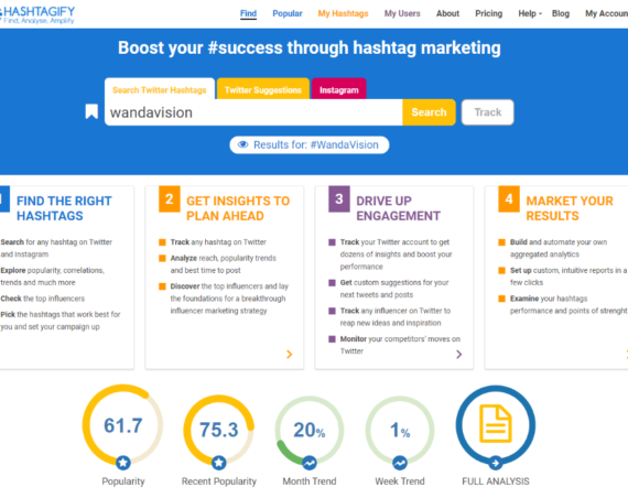 Hashtagify Review and Alternatives